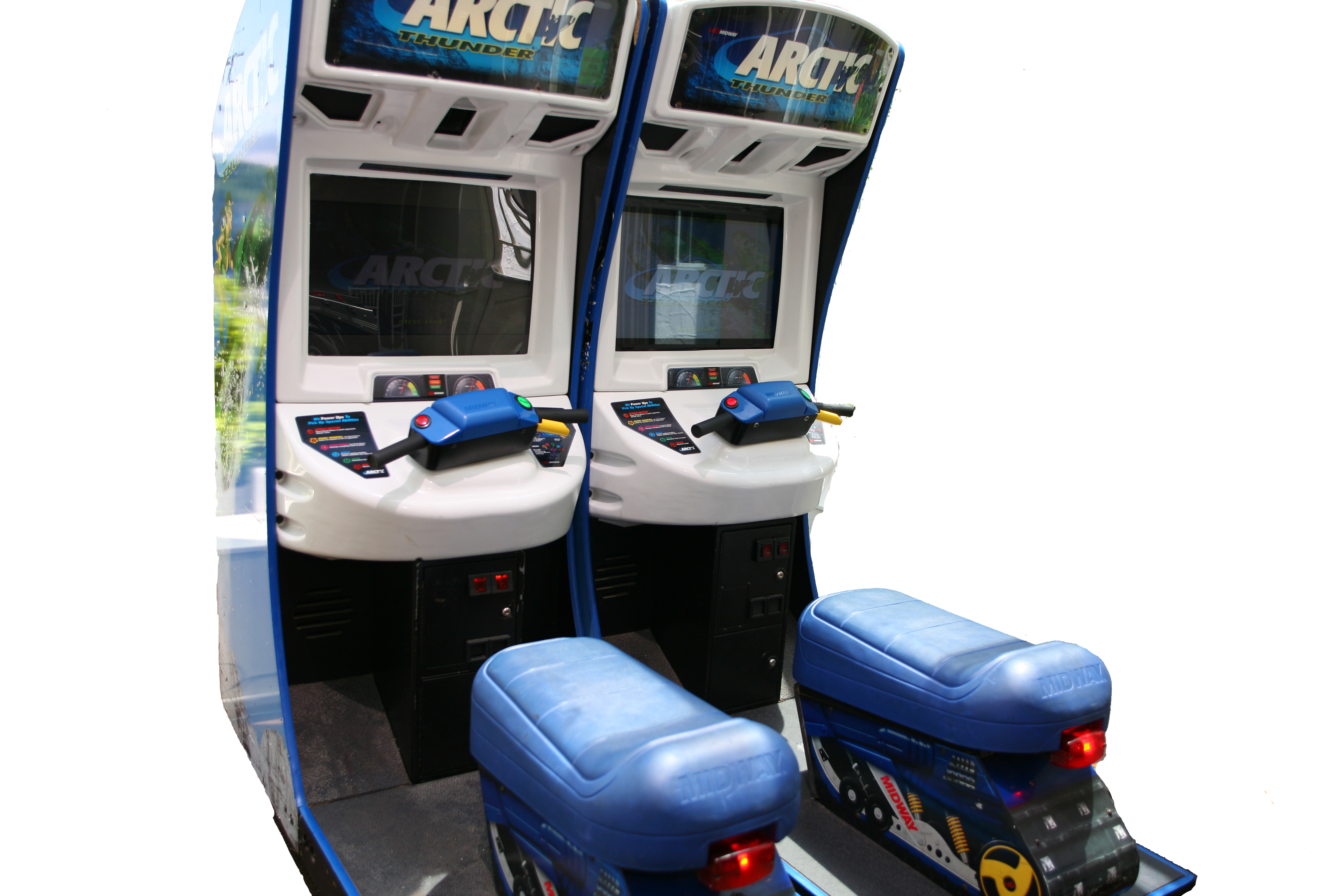Arctic Thunder Snow Machine Simulator