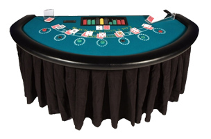 Blackjack Table Retnal
