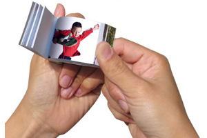 Video Flip Book Favors